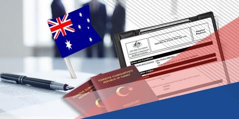 Avustralya Ticari Vize İşlemleri